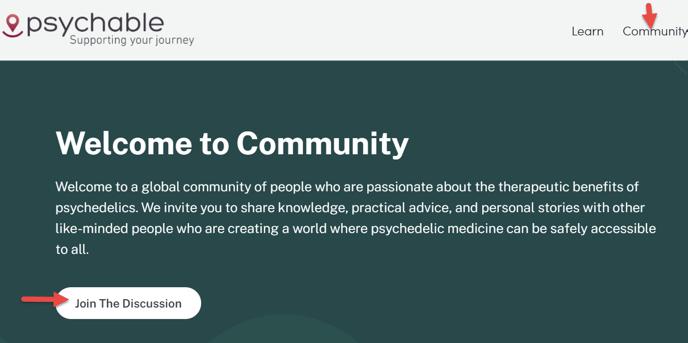 join a commuity
